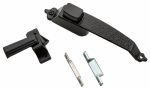 National Mfg/Spectrum Brands Hhi N100-023 Screen & Storm Door Push Button Latch, Colonial Black