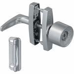 National Mfg/Spectrum Brands Hhi N178-822 Screen & Storm Door Latch With Key, Silver Knob