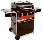 Char-Broil/New Braunfels 463370516-DI Gas-2-Coal Hybrid Grill, 40,000-BTUs + Side Burner