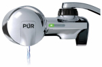 Kaz Usa PFM400H Horizontal Faucet-Mount Water Filter, Chrome