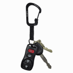 Nite Ize CSLW3-01-R6 SlideLock Key Ring - Black