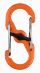 Nite Ize LSBPM-19T-2R3 S-Biner MicroLock Polycarbonate - 2 Pack - Orange
