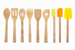 Core Home 13259 Bamboo Utensil Set, 9-Pc.