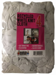 Sandler Brothers 241004 4LB WHT Recy Knit Cloth