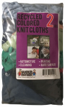 Sandler Brothers 342002 2# Block-Pack Recycled Colored Knit Cloths