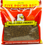 Happy Hen Treats 17006 5lb Mealworm Frenzy