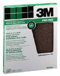 3M 99406 Sandpaper, 50-Grit, Aluminum Oxide, 9 x 11-In., 25-Ct.