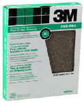 3M 88593NA-15 15-Count 9 x 11-Inch 36-Grit Aluminum Oxide Sandpaper