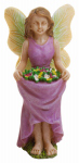 "Marshall Home MG238 Fairy 3"" Fairy/Flowers"