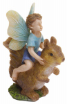 "Marshall Home MG213 Fairy 3"" Boy/Squirrel"