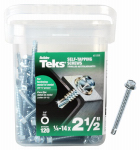 Itw Brands 21358 120PK #14x2.5 Hex Screw