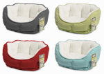 Merchsource 2301169 Small Dog / Pet Bed, Brushed Plush, 18 x 12-In.