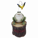 Design House 310789 Frog Key Hider Statue
