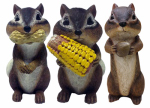 "Design House 415208 6"" Chipmunk Statue"