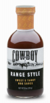 Duraflame Cowboy 83601 Range Style Barbeque Sauce, 18-oz.
