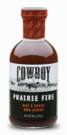 Duraflame Cowboy 83603 Prairie Fire Barbeque Sauce, 18-oz.