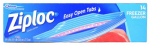 S C Johnson Wax 00389 Heavy-Duty Freezer Bags, Gripper Zipper,  Gal., 14-Count