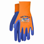 Midwest Quality Gloves PW100T Paw BLU/RED Grip Gloves