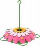 Natures Way Bird Products 3DHF1 Hummingbird Feeder, 3D Pink Flower, 16-oz.