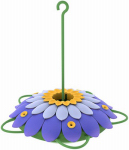 Natures Way Bird Products 3DHF2 Hummingbird Feeder, 3D Purple Flower, 16-oz.