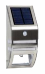 Star Bright SL9836S Solar Motion-Sensor LED Lamp, Stainless Steel