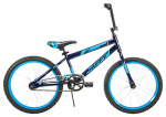 Huffy Bicycles 23247 Boys' Spectre Bike, Matte Chrome Red, 20-In.