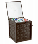 Sunjoy Group Intl Pte L-BC204PST-A 66Q Faux Wicker Cooler