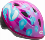 Bell Sports 7073339 Girls' Downy Zoomer Bicyle Helmet, Pink/Blue
