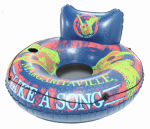 Unified Marine 2625808 Margaritaville Easy Rider Floating Tube Chair, 48-In.