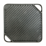 Blue Rhino Global Sourcing 00395TV Reversible Grill / Griddle, Cast Iron, 10.5-In. Sq.