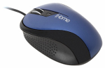 Lifeworks Technology Group IH-M1010N Ergonomic USB Desktop Mouse, Blue