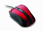 Lifeworks Technology Group IH-M1020R Precision USB Desktop Mouse, Red