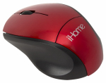 Lifeworks Technology Group IH-M2000R Wireless Travel Mouse, Red