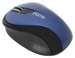 Lifeworks Technology Group IH-M2010N Ergonomic Wireless Desktop Mouse, Blue