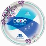 Georgia Pacific 15289 Dixie 48PK 8x1/2 Plates