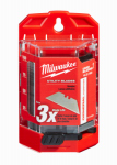 Milwaukee Electric or Electrical Tool 48-22-1900 Utility Blades With Dispenser, 100-Pc.