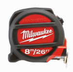 Milwaukee Electric or Electrical Tool 48-22-5225 Magnetic Tape Measure, 26-Ft.