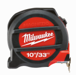 Milwaukee Electric or Electrical Tool 48-22-5233 33'/10M Magnetic Tape Measure
