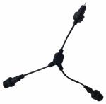 Jiawei Technology Usa OS908-D1 Cable Splitter, Black