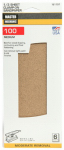 Ali Industries 5045 6-Pack 1/3-Sheet Assorted-Grit Sandpaper
