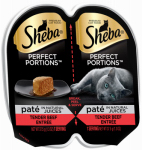 Mars Petcare Us 10119312 Sheba 2.6OZ Beef Food