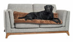 Q10 Products Dba Enchanted Home Pet CO2629-15-BRN Self-Warming Pet Sofa Bolster/Furniture Protector, 42 x 26 x 6-In.