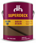 Duckback Products DPI053034-16 Cool Feel Wood Stain, Solid-Color, Pine Cone, 1-Gal.