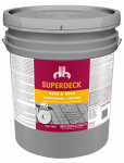Duckback Products SC0054045-20 Cool Feel Deck & Dock Wood Stain, Deep-Tone Base, Brown, 5-Gals.