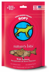 Multipet International 68009 Nat 6OZ Salmo Dog Treat