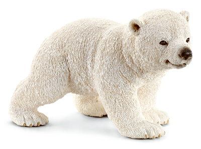 Schleich North America 14708 WHT Polar Bear Cub