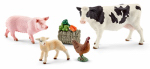 Schleich North America 41424 Farm Animals Play Set
