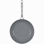 Bradshaw International 07346 Granito Non-Stick Saute Pan, Gray, 10-In.