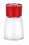 Bradshaw International 22115 Glass Cheese Shaker, 5.5-oz.