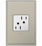 Pass & Seymour ARTR152W4 Tamper-Resistant Outlet, White, 15-Amp